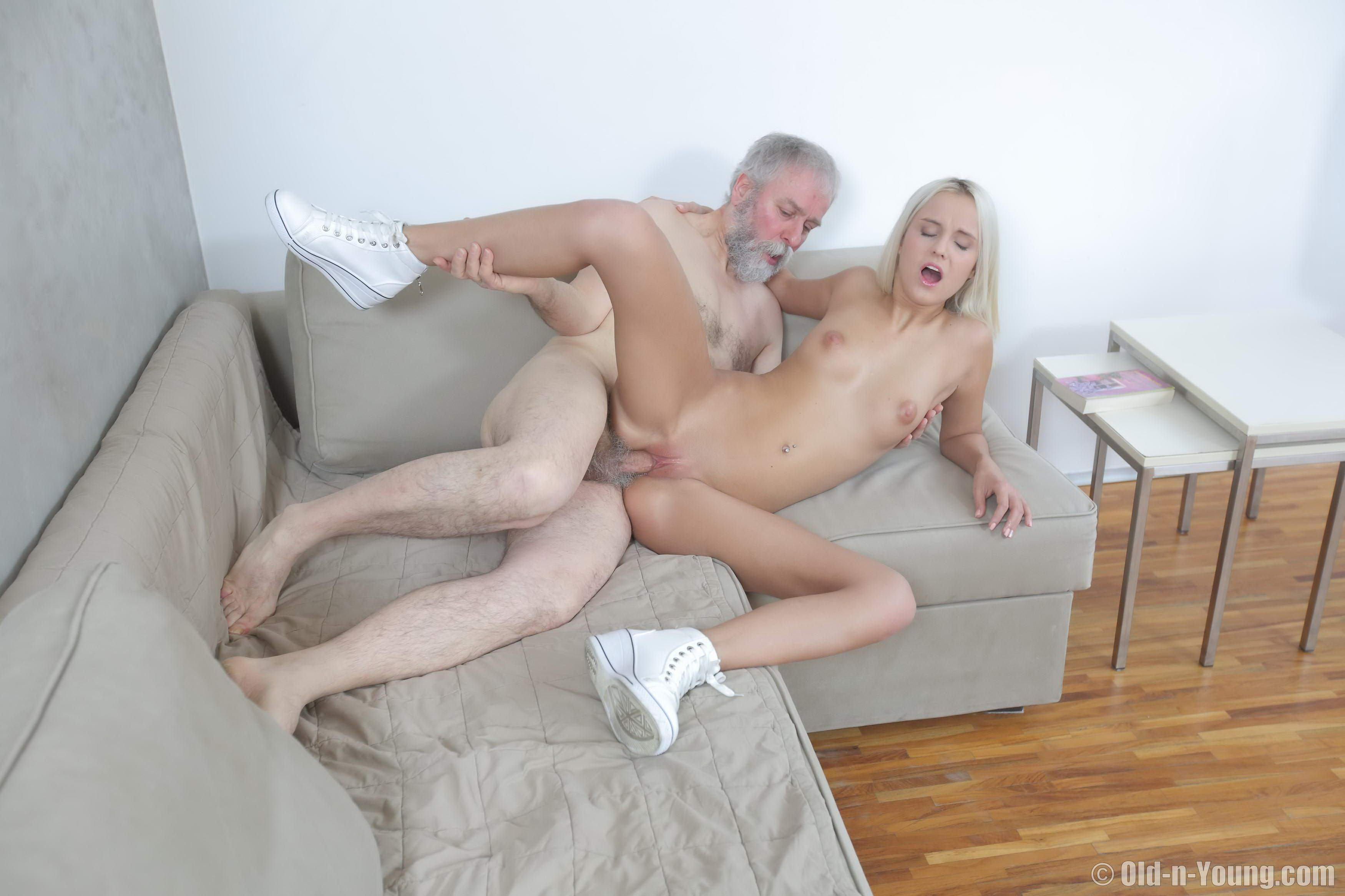 Teens and old people having sex